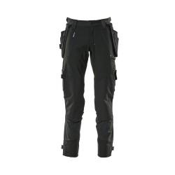 Mascot Advanced 17031 Pants With Kneepad Pockets And Holster Pockets Black
