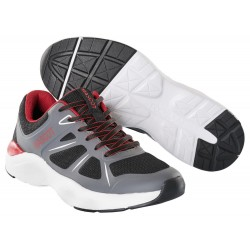 Mascot Footwear Casual F0950 Sneakers Black Dark  Anthracite Red