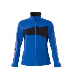 Mascot Accelerate 18008 Ladies Fit Jacket Azure Blue Dark Navy