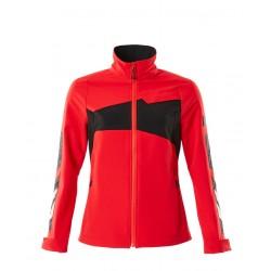 Mascot Accelerate 18008 Ladies Fit Jacket Traffic Red Black