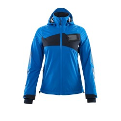 Mascot Accelerate 18011 Ladies Fit Outer Shell Jacket Azure Blue Dark Navy