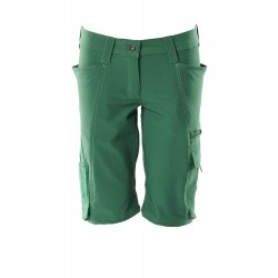 Mascot Accelerate 18044 Ladies Fit Shorts Green