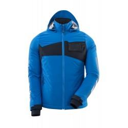 Mascot Accelerate 18045 Ladies Fit Waterproof Winter Jacket Azure Blue Dark Navy