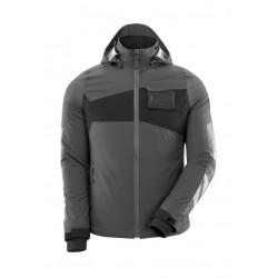 Mascot Accelerate 18045 Ladies Fit Waterproof Winter Jacket Dark Anthracite Black
