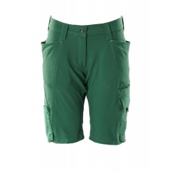 Mascot Accelerate 18048 Ladies Fit Shorts Green