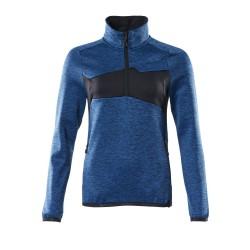 Mascot Accelerate 18053 Ladies Fit Fleece Jumper Azure Blue Dark Navy