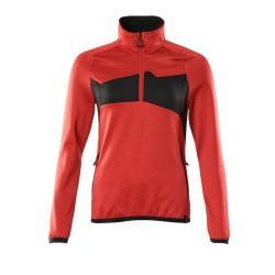 Mascot Accelerate 18053 Ladies Fit Fleece Jumper Traffic Red Black