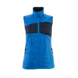 Mascot Accelerate 18075 Winter Gilet Ladies Fit Azure Blue Dark Navy
