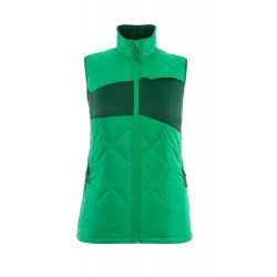 Mascot Accelerate 18075 Winter Gilet Ladies Fit Grass Green
