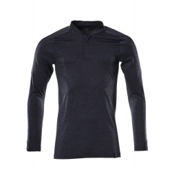 Mascot Accelerate 18081 Polo Shirt Long-sleeved Dark Navy Flecked