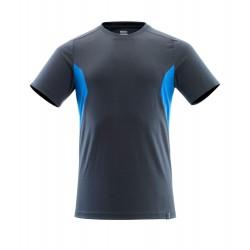 Mascot Accelerate 18082 T-shirt Dark Navy Azure Blue