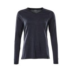 Mascot Accelerate 18091 Ladies Fit T-shirt long Sleeved Dark Navy