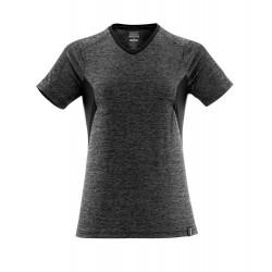 Mascot Accelerate 18092 Ladies Fit T-shirt Dark Anthracite Flecked Black