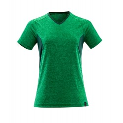 Mascot Accelerate 18092 Ladies Fit T-shirt Grass Green Flecked Green