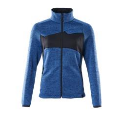 Mascot Accelerate 18155 Ladies Fit Knitted Jumper Azure Blue Dark Navy