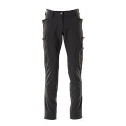 Mascot Accelerate 18178 Trousers With Thigh Pockets Ladies Fit Black