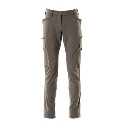 Mascot Accelerate 18178 Trousers With Thigh Pockets Ladies Fit Dark Anthracite