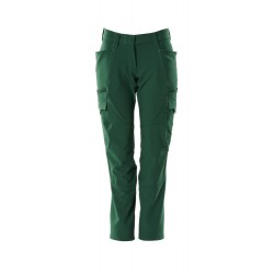 Mascot Accelerate 18178 Trousers With Thigh Pockets Ladies Fit Green