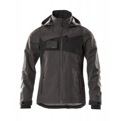 Mascot Accelerate 18301 Outer Shell Jacket Dark Anthracite Black