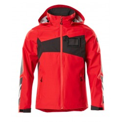Mascot Accelerate 18301 Outer Shell Jacket Traffic Red Black