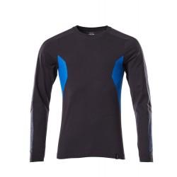 Mascot Accelerate 18381 T-shirt Long-sleeved Dark Navy Azure Blue