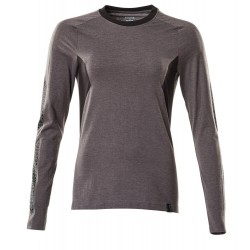 Mascot Accelerate 18391 Ladies Fit T-shirt, long Sleeved Dark Anthracite Black