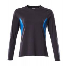 Mascot Accelerate 18391 Ladies Fit T-shirt, long Sleeved Dark Navy Azure Blue