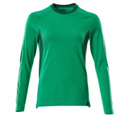 Mascot Accelerate 18391 Ladies Fit T-shirt, long Sleeved Grass Green
