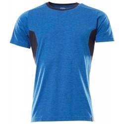 Mascot Accelerate 18392 Ladies Fit T-shirt Azure Blue Dark Navy