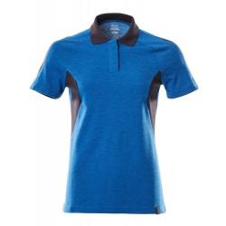 Mascot Accelerate 18393 Ladies Fit Polo Shirt Azure Blue Dark Navy