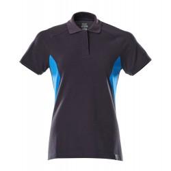 Mascot Accelerate 18393 Ladies Fit Polo Shirt Dark Navy Azure Blue
