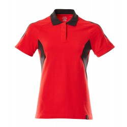 Mascot Accelerate 18393 Ladies Fit Polo Shirt Traffic Red Black