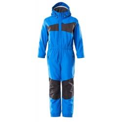 Mascot Accelerate 18919 Snowsuit for Children Azure Blue Dark Navy