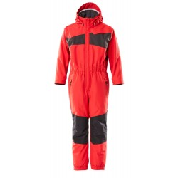 Mascot Accelerate 18919 Snowsuit for Children Traffic Red Black