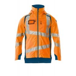 Mascot Accelerate Safe 19001 Outer Shell Jacket Hi Vis Orange Dark Petroleum