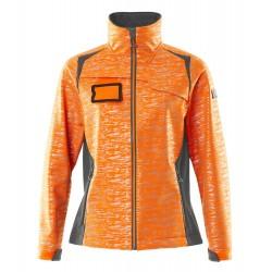 Mascot Accelerate Safe 19212 Softshell Jacket Ladies Fit Hi Vis Orange Dark Anthracite