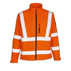 Mascot Calgary Safe Arctic 08005 Softshell Jacket Orange Class 3