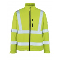 Mascot Calgary Safe Arctic 08005 Softshell Jacket Yellow Class 3