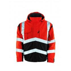 Mascot Camina Safe Young 09035 Pilot Jacket Red Dark Anthracite Class 2