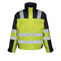 Mascot Genova Safe Image 05023 Yellow Navy Winter Jacket