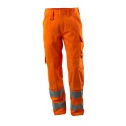 Mascot Safe Supreme 16879 Trousers with Kneepad Pockets Orange