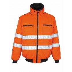 Mascot Innsbruck Safe Arctic 00520 Orange Pilot Jacket