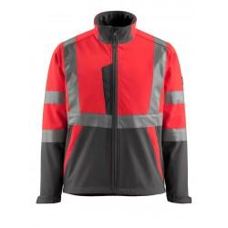 Mascot Kiama Safe Light 17010 Softshell Jacket Red Anthracite Class 2