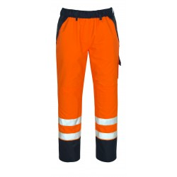 Mascot Linz Safe Image 07090 Over Trousers Orange Navy