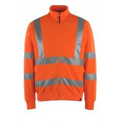 Mascot Maringa Safe Classic 50115 Orange Sweatshirt With Zipper