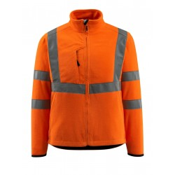 Mascot Mildura Safe Light 15903 Fleece Jacket Orange Class 3