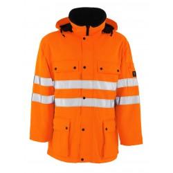 Mascot Quebec Safe Arctic 00510 Orange Parka Jacket
