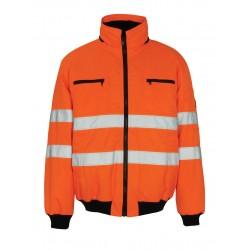 Mascot St Moritz Safe Arctic 00534 Orange Pilot Jacket