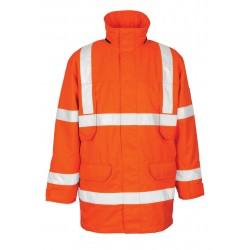 Mascot Vancouver Safe Arctic 07930 Orange Parka Jacket
