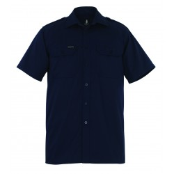 Mascot Crossover Savannah Shirt Short-sleeved Navy